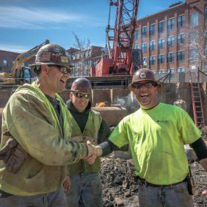 Boston union contractor team